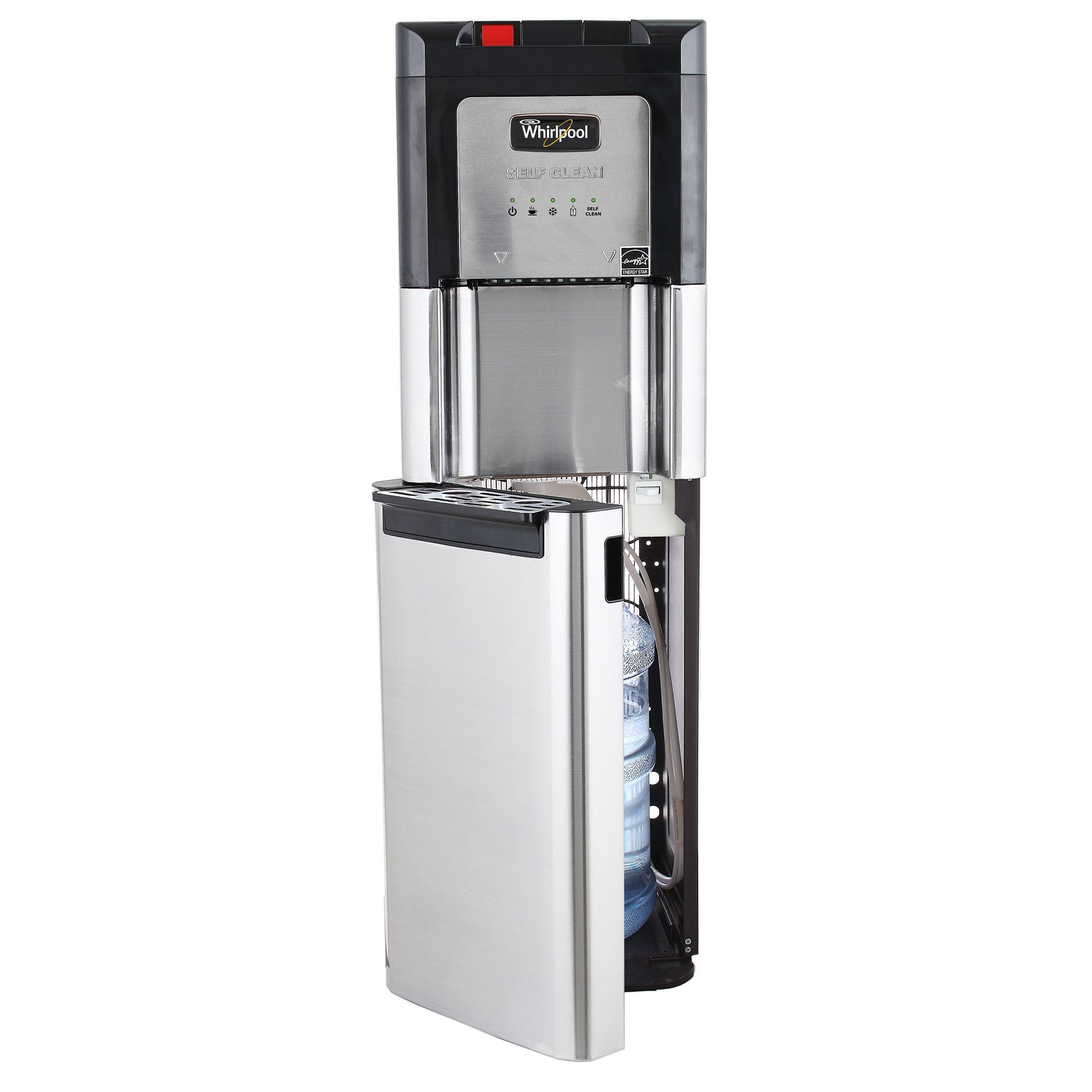 Whirlpool Self Cleaning Stainless Steel Bottom Load Water Cooler ...
