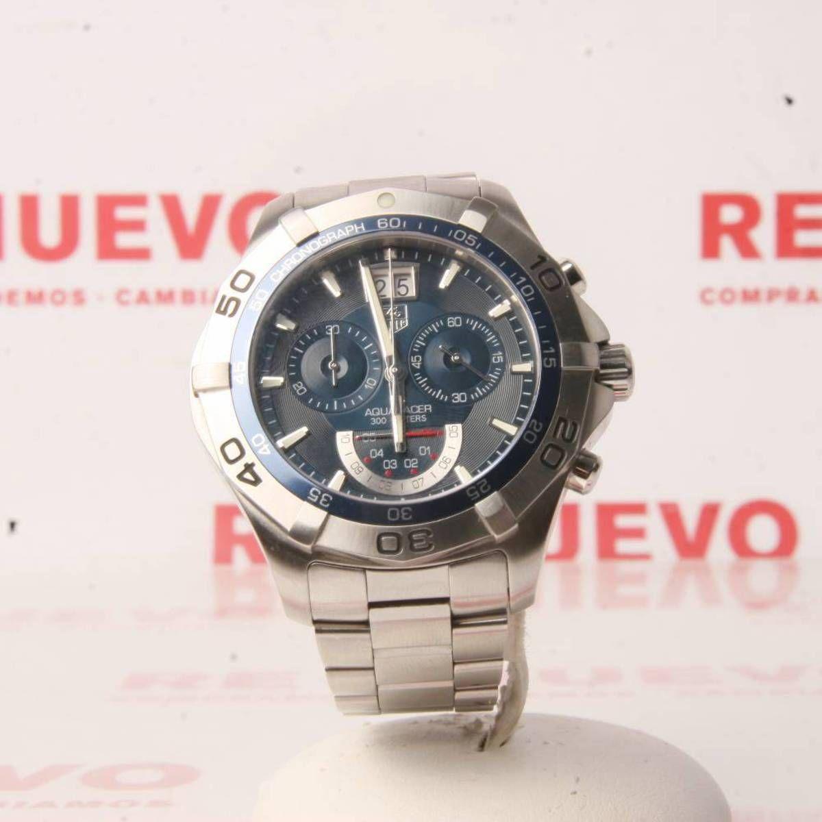 4b69e5fe2db2 Reloj TAG HEUER AQUARACER GRAND DATE CAF101C de segunda mano E278162 ...