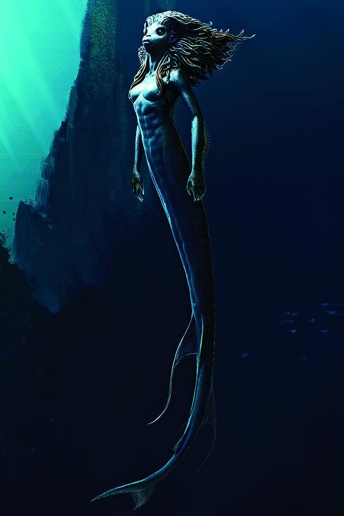 New Universal Studios Wizarding World Of Harry Potter Merpeople Mermaid Pin