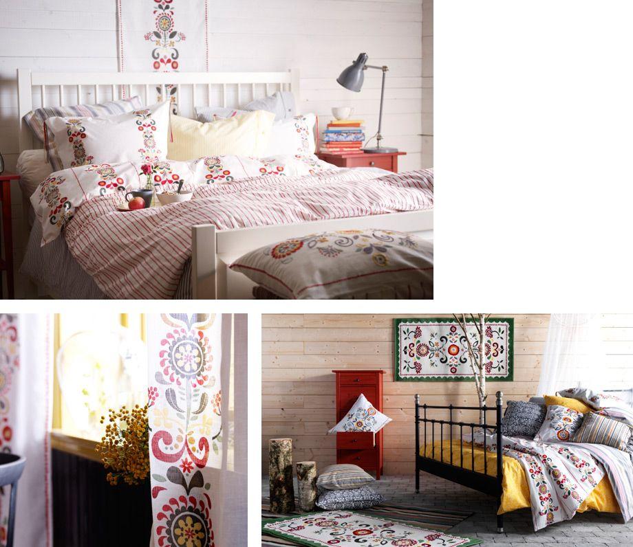 IKEA Österreich, Inspiration, Schlafzimmer, Textilien