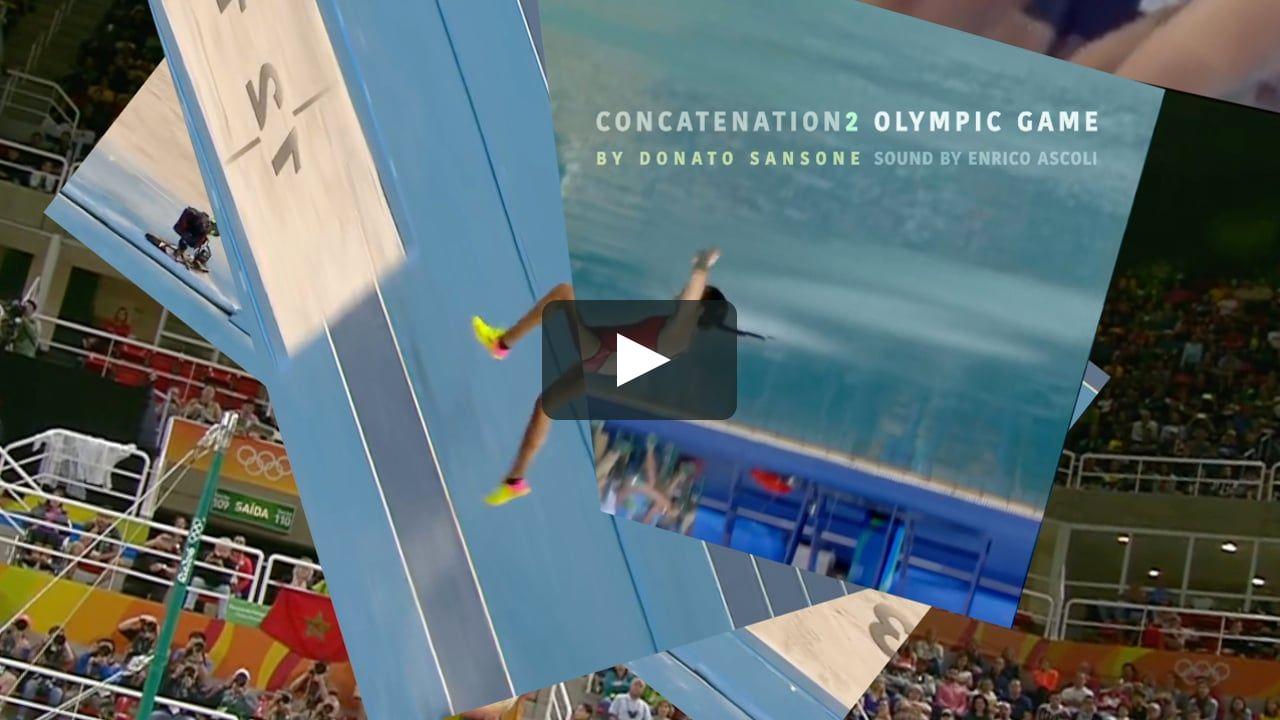 concatenation 2 OLYMPIC GAME by Donato Sansone (milkyeyes