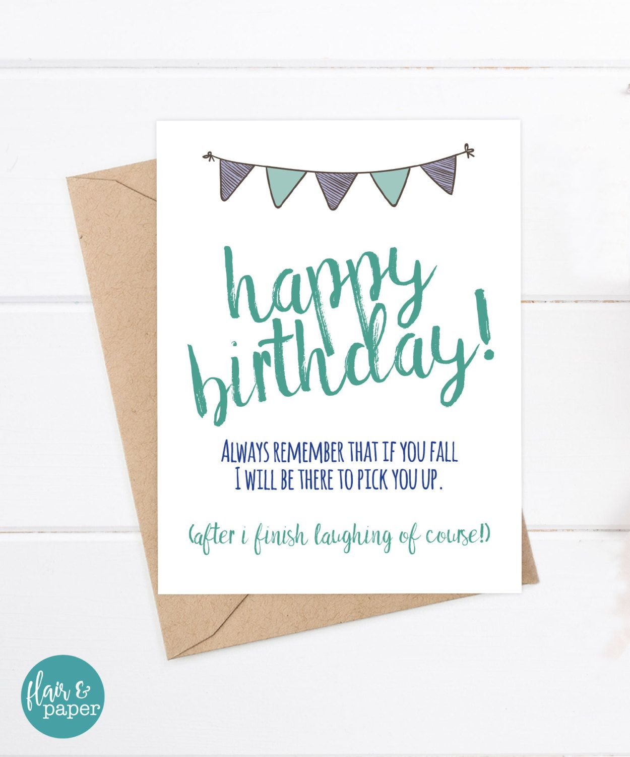 Funny birthday card funny brother card greeting card older funny birthday card funny brother card greeting card older brother card brother birthday card funny brother card m4hsunfo