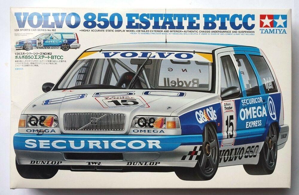 Ebay Sponsored Tamiya 1 24 Volvo 850 Estate Btcc 24162 Scale Model Kit Box Damaged Volvo 850 Volvo Tamiya Model Kits