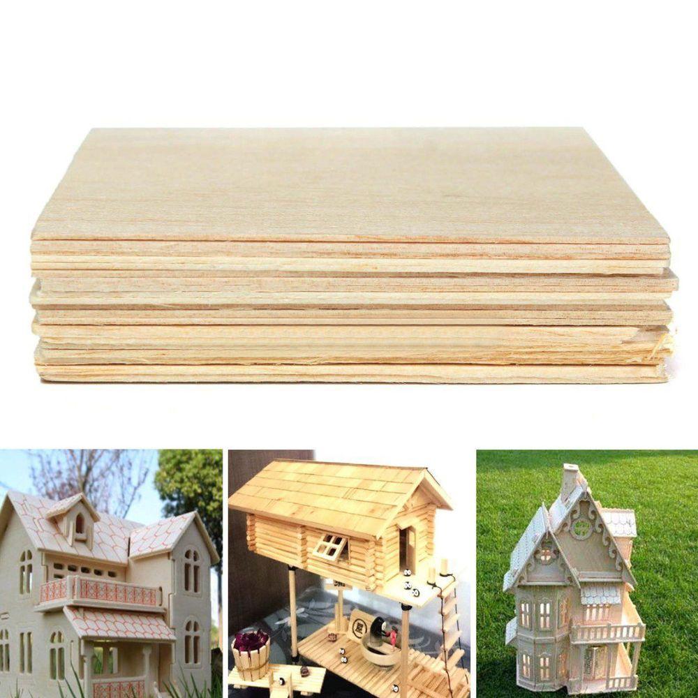 11+ Craft balsa wood sheets ideas