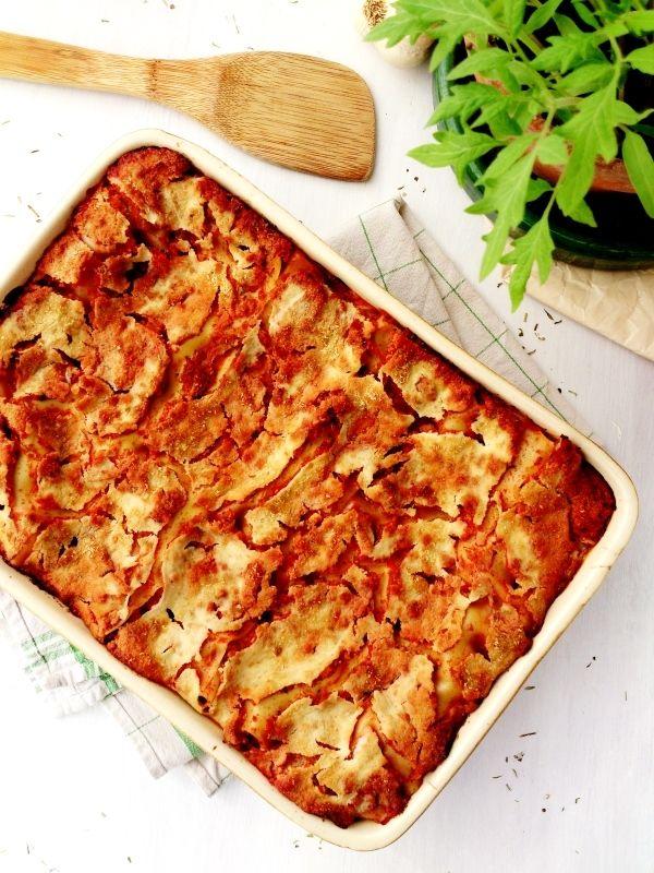 Lasagnes Vegan Au Tofu Rosso Recette Facile Rapide Trop Bonne