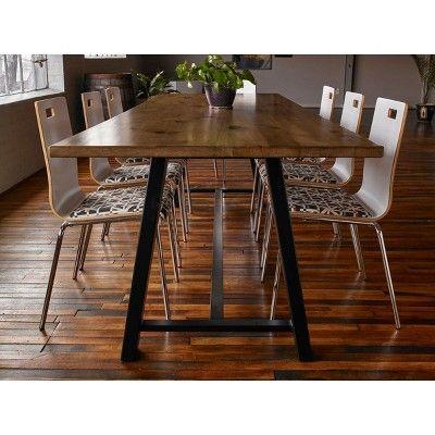 Best Midtown Multipurpose Table Barnwood Brown Kfi Seating 400 x 300
