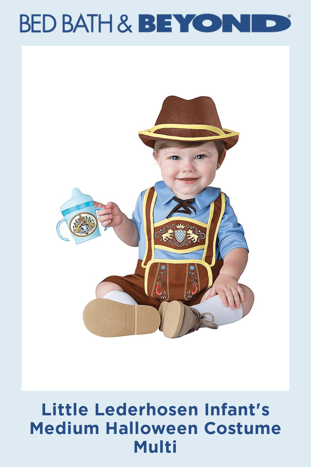 Little Lederhosen Infant's Medium Halloween Costume Multi