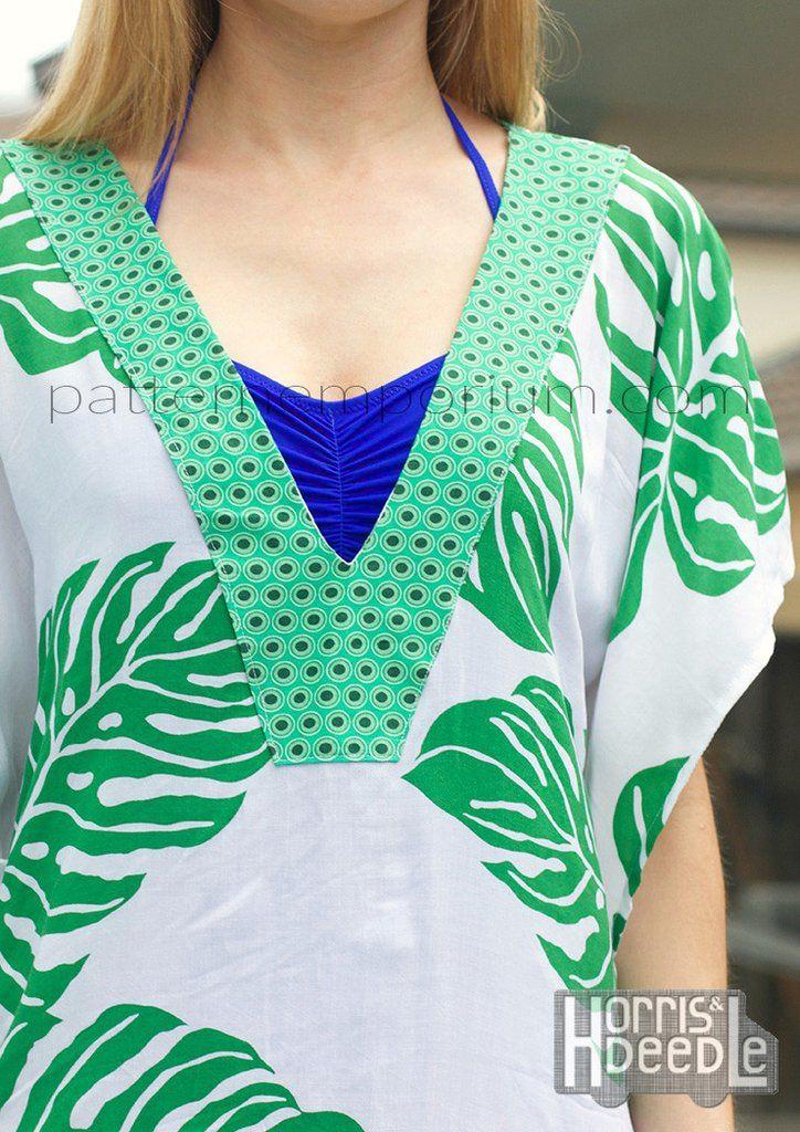 SunKissed Kaftan LADIES PDF SEWING PATTERN | Pinterest | Pdf sewing ...