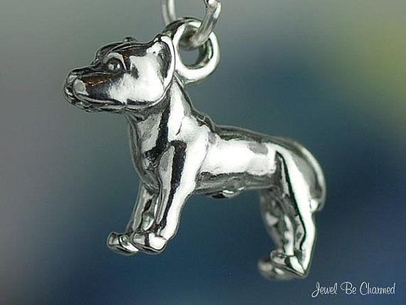 Pitbull American dog charm x 1 Pit Bull dogs pitbulls charms