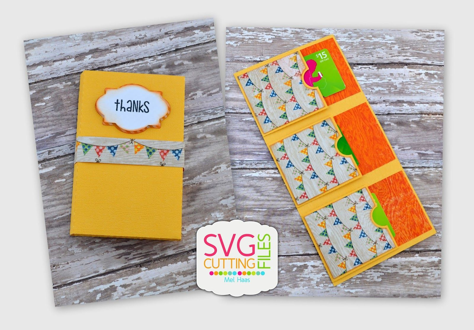 Svg Cutting Files Multiple Gift Card Holder Svg Cutables Some