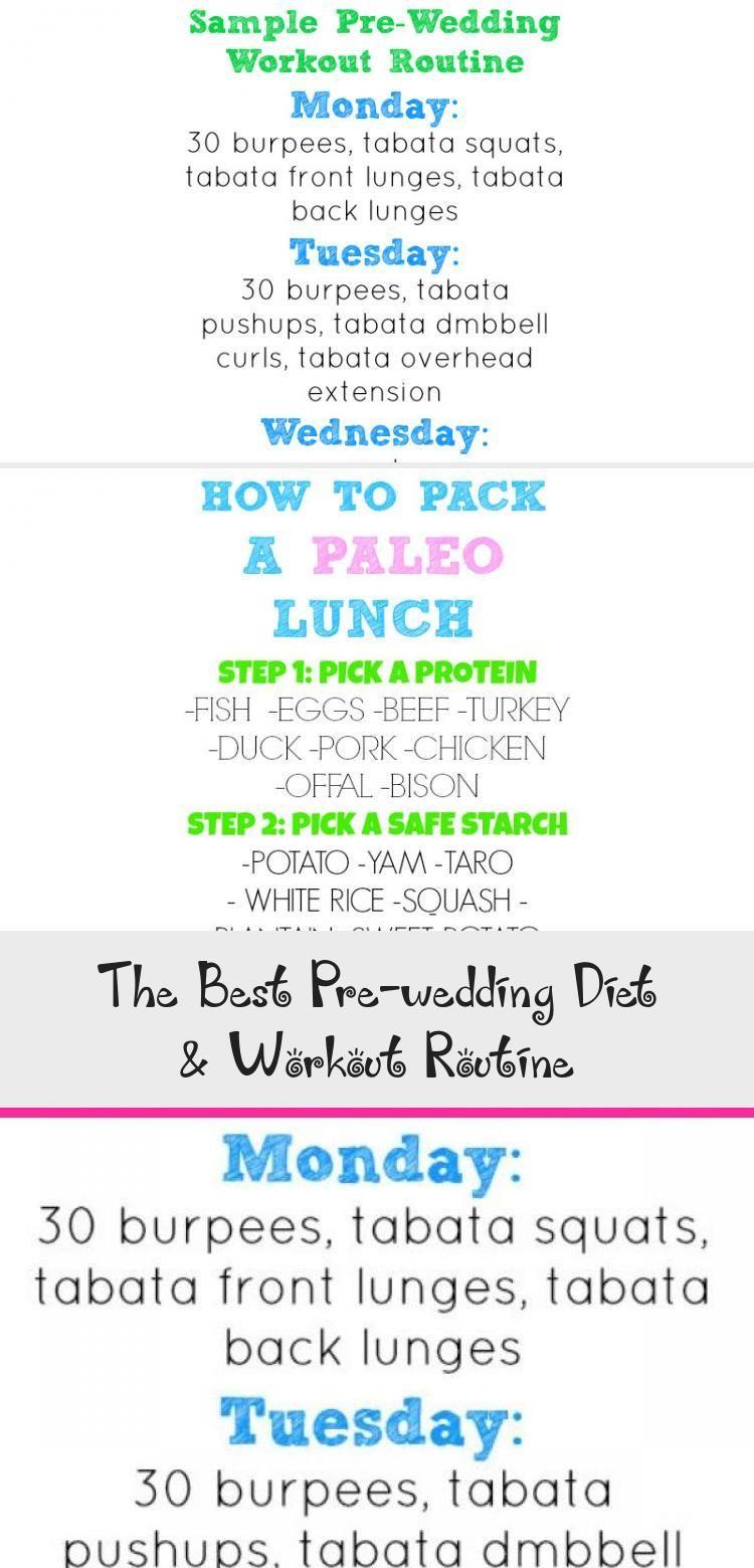 The Best Pre Wedding Diet Workout Routine Wedding Diet Wedding Workout Workout Routine