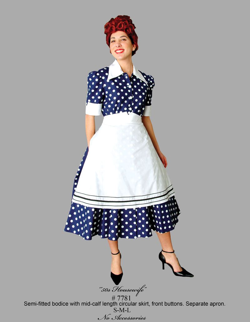 636faf36a80fe Buy 50s Housewife Dress 7781 Tabis Characters | I Love Lucy! | Lucy ...