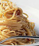 Spaghetti carbonara  Food
