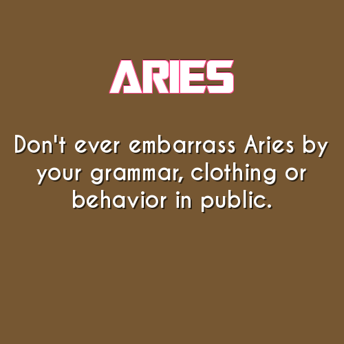 daily aries horoscope for men