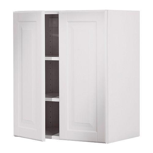 Akurum Wall Cabinet With 2 Doors White Lidingo White 257 00 For