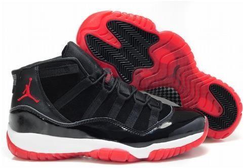 air jordan retro 11 rouge et noir