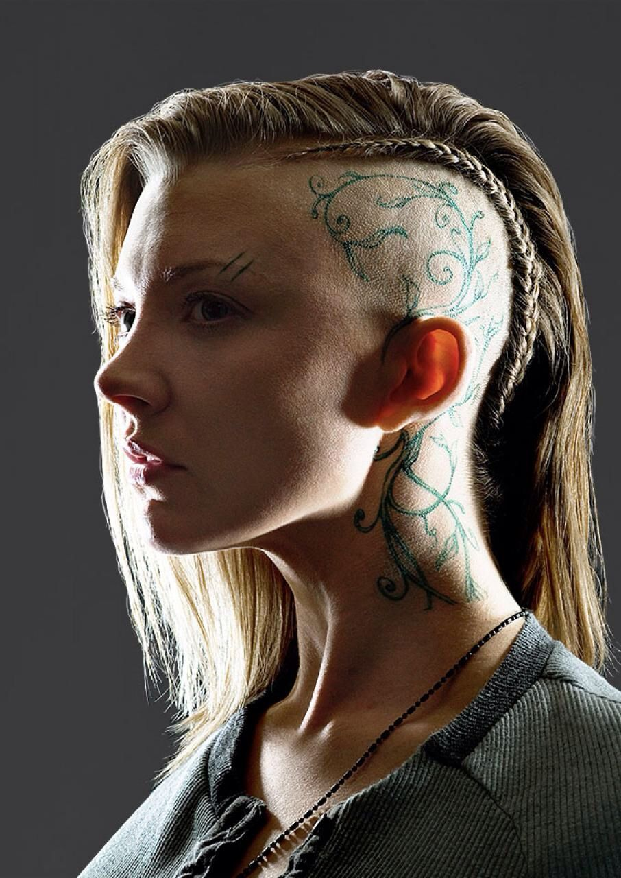 Natalie Dormer as Cressida in Mockingjay - Wow. There are ...