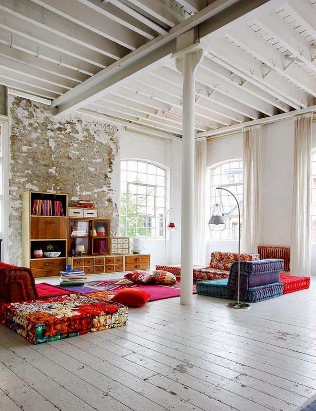 Boho style! | Interiors | Pinterest | Spare room, Room ideas and Room