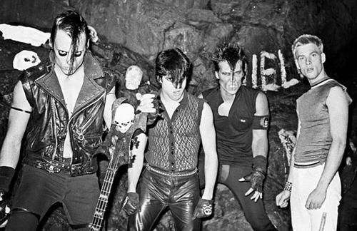 The Mifits with Glenn Danzig - Pic taken from Tumblr