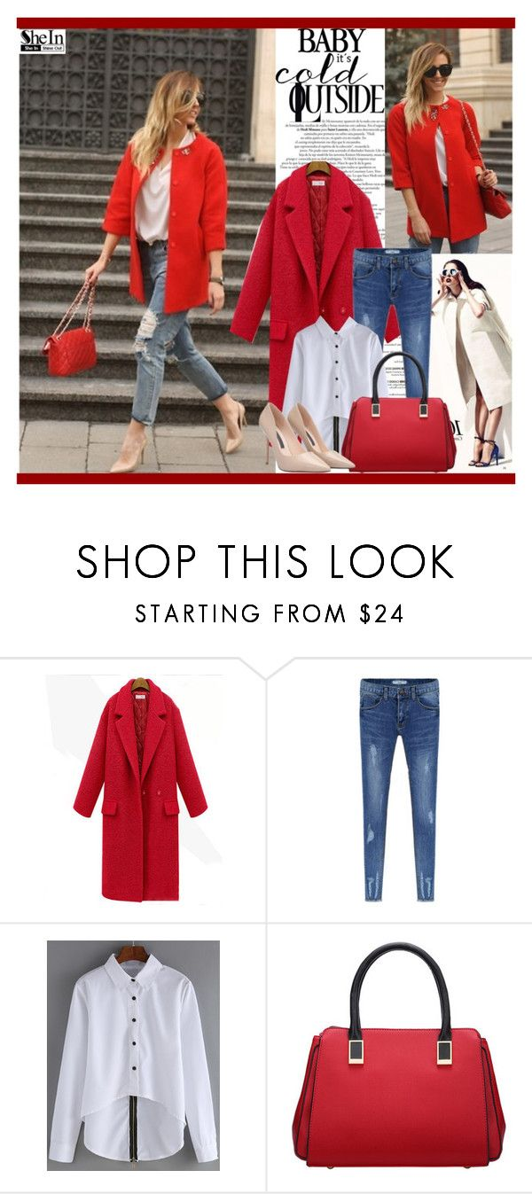 """""""Red is beautiful :)"""" by hetkateta ❤ liked on Polyvore featuring women's clothing, women's fashion, women, female, woman, misses and juniors"""