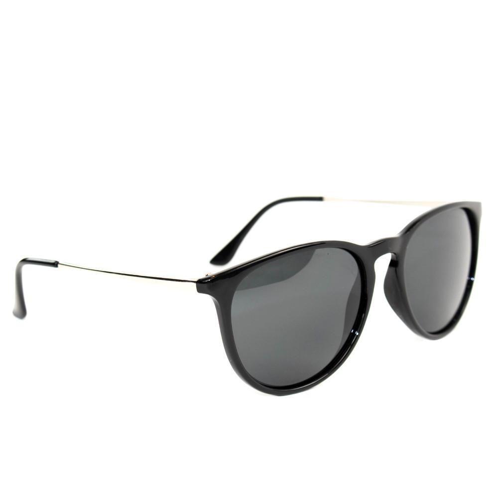 Fleek Black Polarized Sunglasses for Women