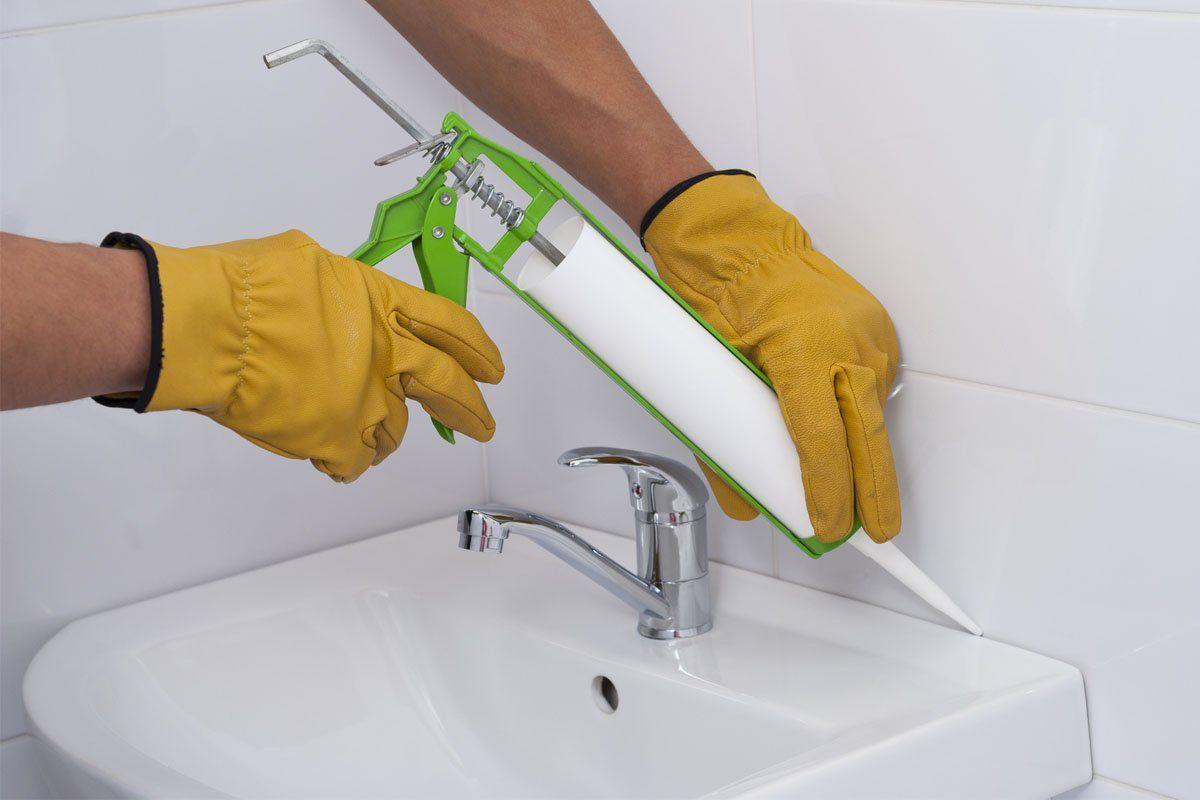 The Dos And Don Ts Of Caulking The Bathroom Caulking Shower Cleaner Caulk Guns [ 800 x 1200 Pixel ]