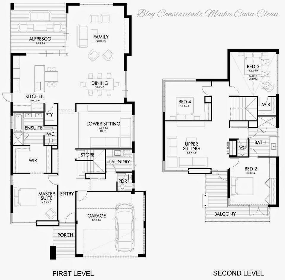Australien · casa linda e moderna na austrália fachada interior e o projeto