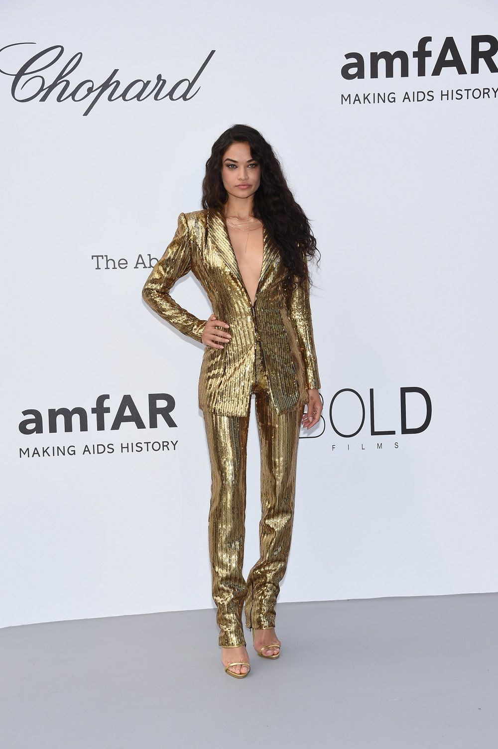 b320ba0e01 Celebrities Dressed in Philipp Plein At AmfAR Cannes Gala 2018 - MUSE  ARABIA MAGAZINE