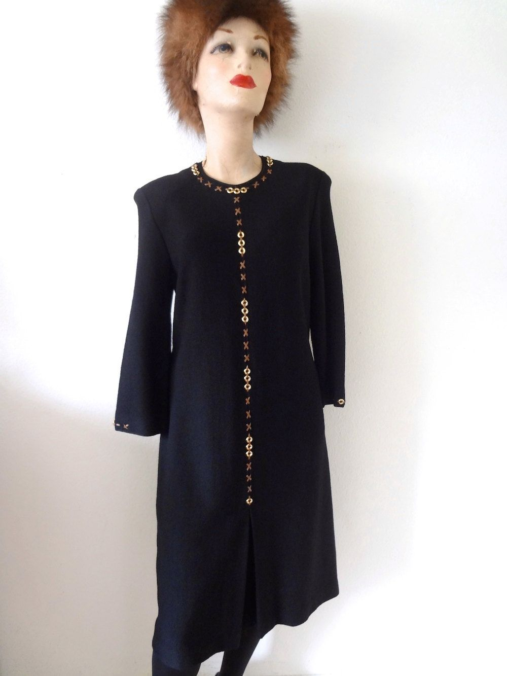 1960s Cotton Blouse - voile button back shirt with jabot ruffle ...