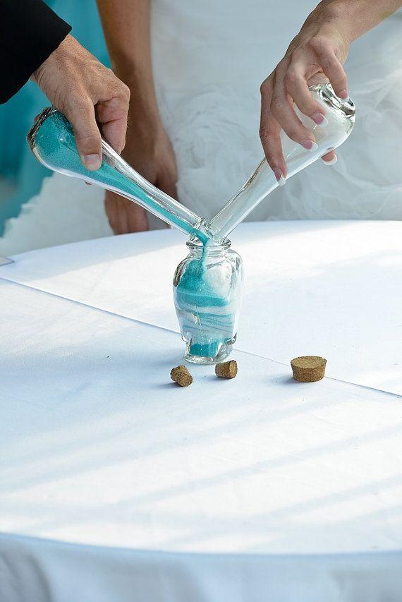 Unity Sand Ceremony Set - Ótimo para cerimônia de casamento na praia