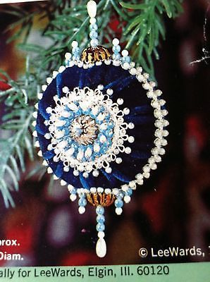 Vintage Beaded Ornament Kits Google Search Victorian Christmas Ornaments Handmade Christmas Ornaments Beaded Christmas Ornaments