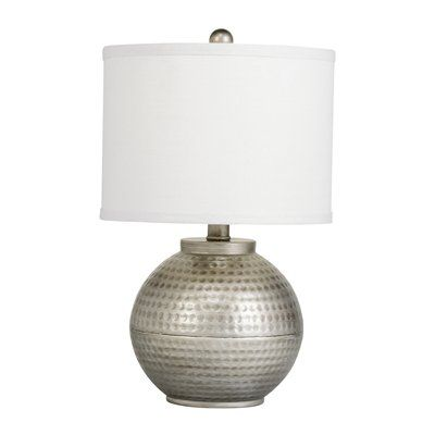 Kichler Lighting 70332 Westwood Round Accent Table Lamp Hammered Bronze Lamp Round Accent Table Accent Lamp