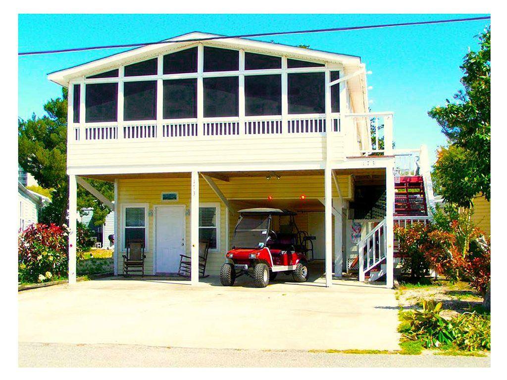129336 beach house 2 kitchens golf cart pet