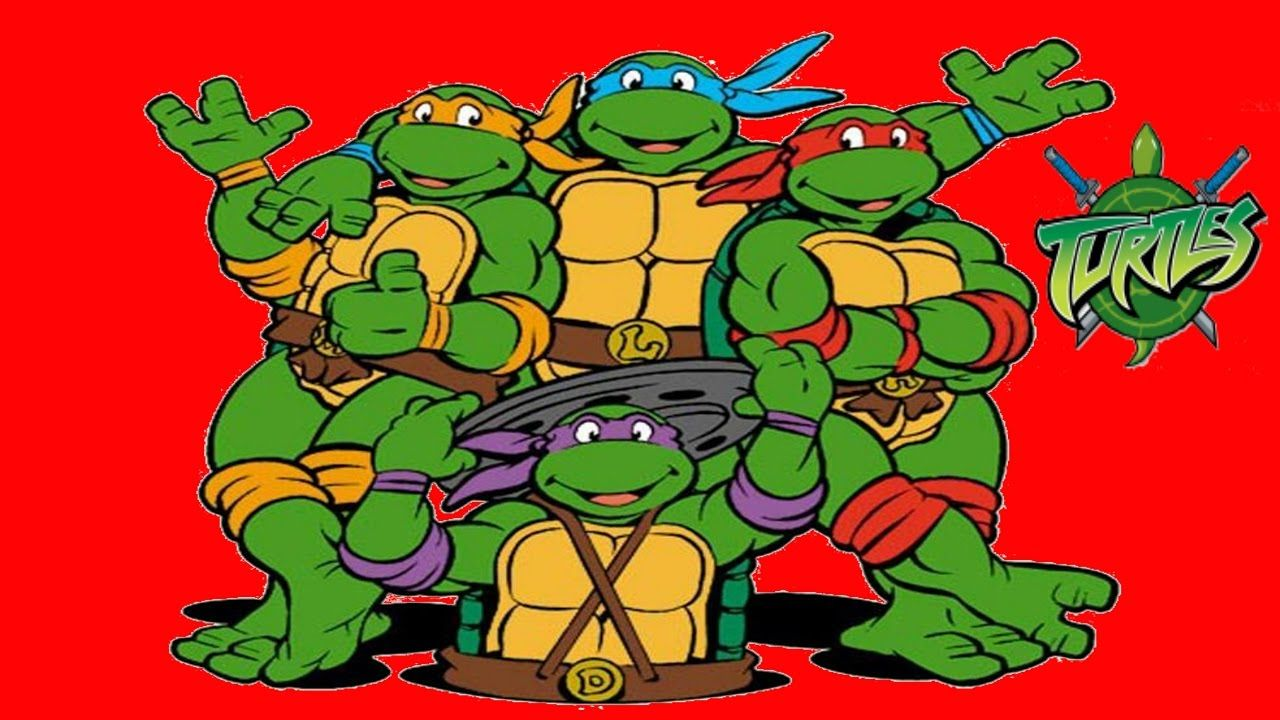 Teenage Mutant Ninja Turtles COLORING Черепашки ниндзя ...