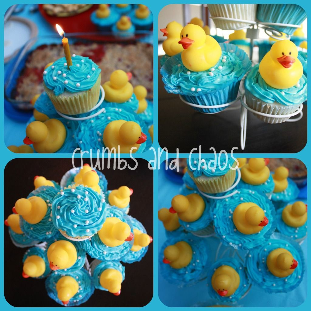 A Rubber Ducky Themed First Birthday Party Birthdays Rubber ducky
