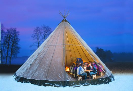 Tentipi tent-like structures made in Norway based on historic Indian tents; they & Tentipi: tent-like structures made in Norway based on historic ...