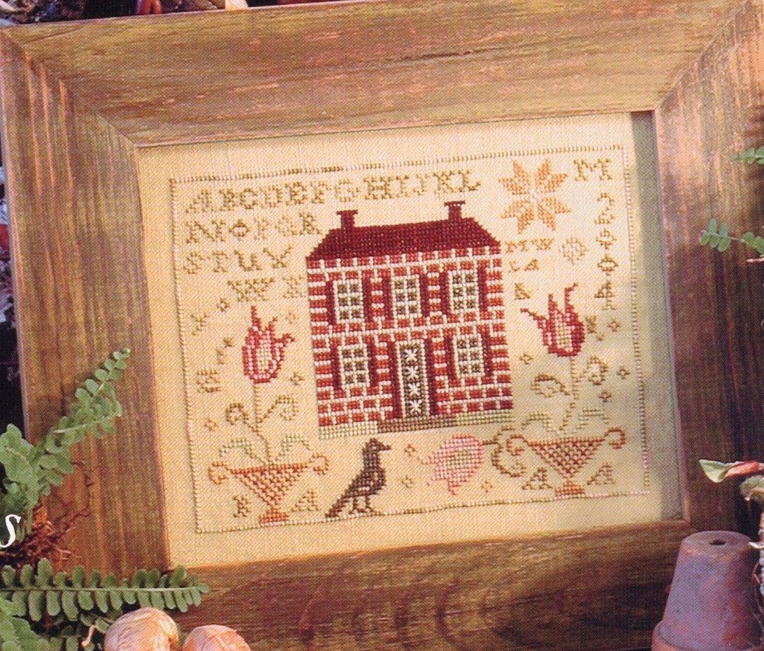 Tulipmanor2 cross stitch pinterest cross stitch for Blackbird designs strawberry garden