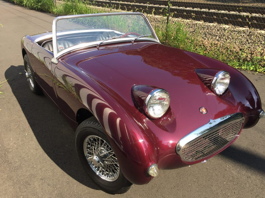 Awesome Restored 1960 Bugeye Sprite For Sale With Wire