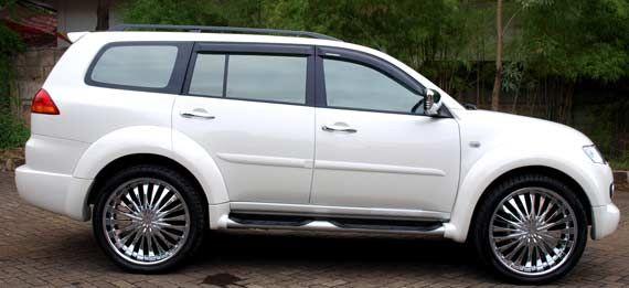 Modif Mitsubishi Pajero Sport Putih Dengan Gambar Mobil