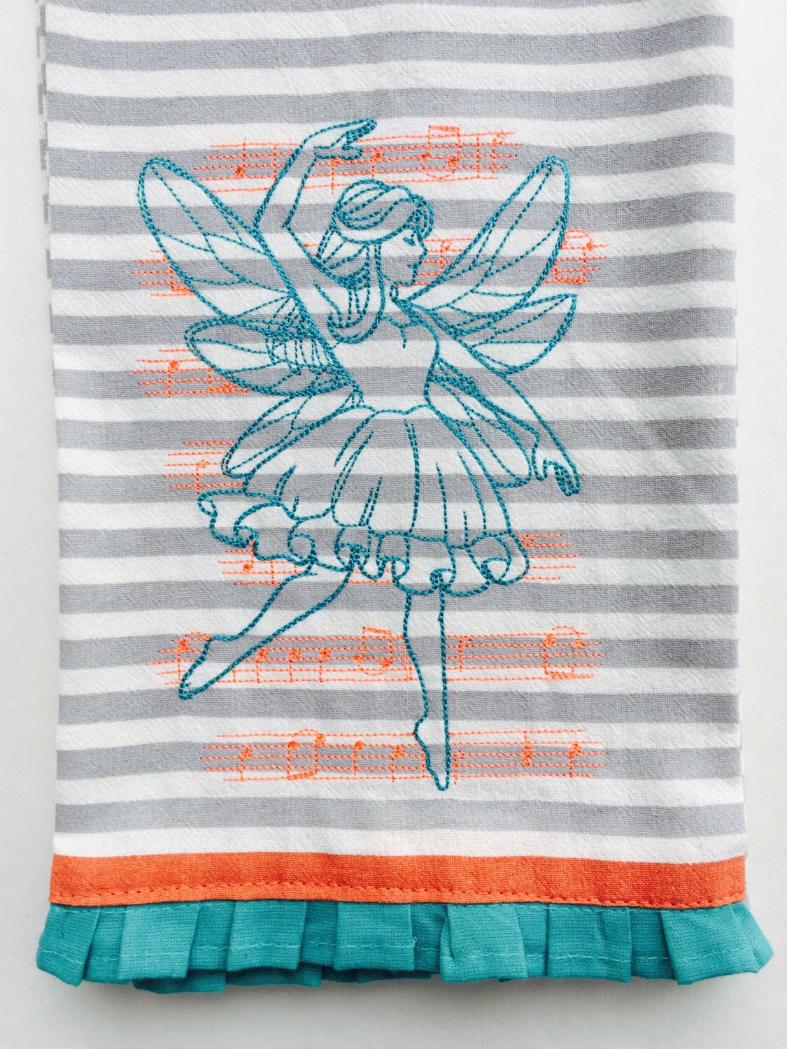 A personal favorite from my Etsy shop https://www.etsy.com/listing/468122044/fairy-hanging-decorative-hand-towel