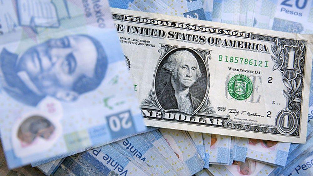Dólar hoy abre hasta en 19.20 pesos en casas de cambio