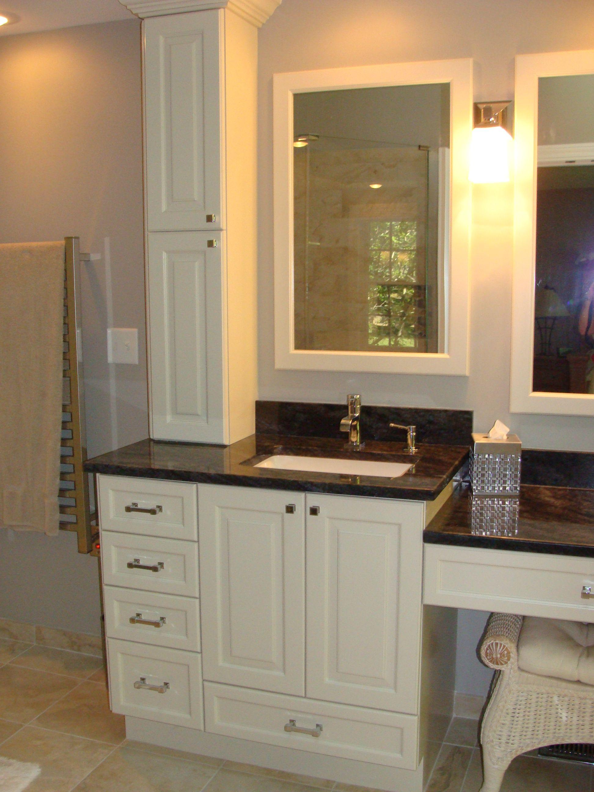 vanity single sink make up vanity