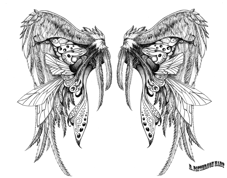 Wing tattoo design - Tattoo S For Wing Tattoo Designs