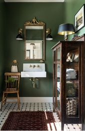 7 Stylish green & brown interiors that show this is the nature-inspired trend #brown #green #inspired #interiors #nature #Stylish #Trend #dunkleinnenräume