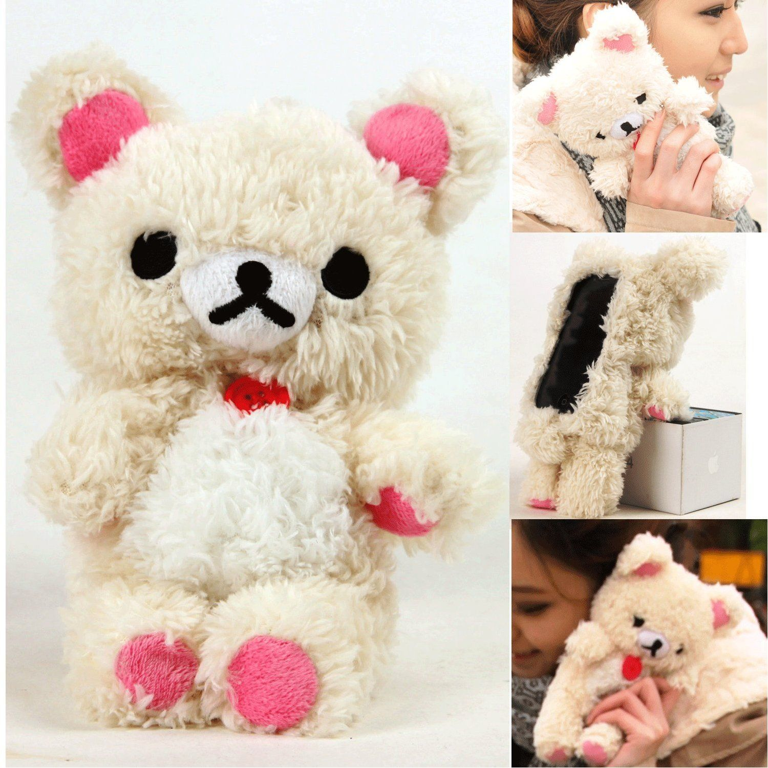 new arrival 3fb30 148f2 teddy bear iphone case- super cute! | Iphone Cases♥♥ | Phone cases ...