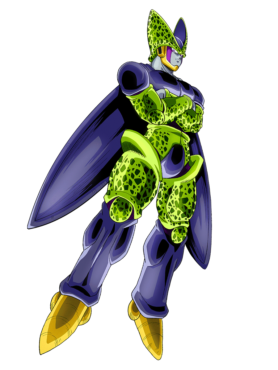 Perfect Cell Render Dokkan Battle By Maxiuchiha22 On Deviantart Dragon Ball Super Goku Perfect Cell Dragon Ball Super