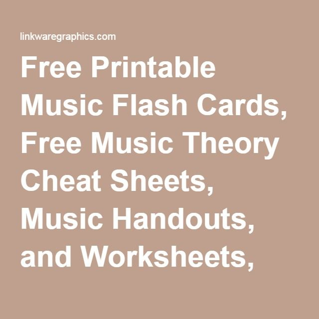 image regarding Free Printable Music Flashcards identified as Free of charge Printable Songs Flash Playing cards, Totally free Audio Basic principle Cheat