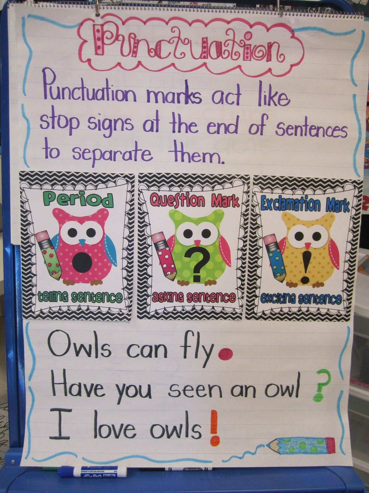 I M Back Us Owl Punctuation