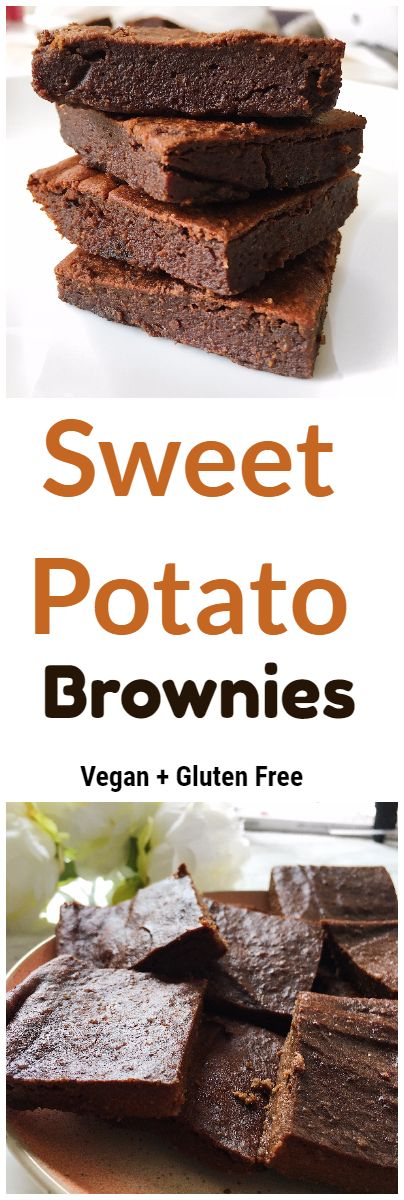 Delicious, Healthy + Fudgy Sweet Potato Brownies - Nourish Your Glow