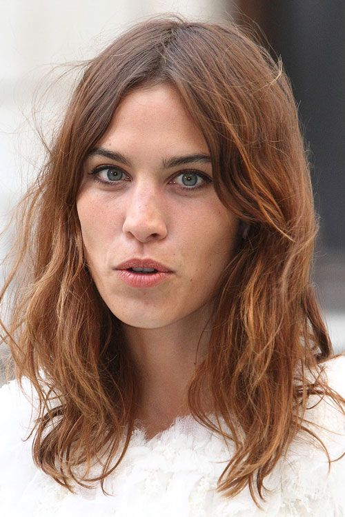 Alexa Chung Clothes Outfits Steal Her Style Alexa Chung Hair Hair Color Trends Bob Hairstyles